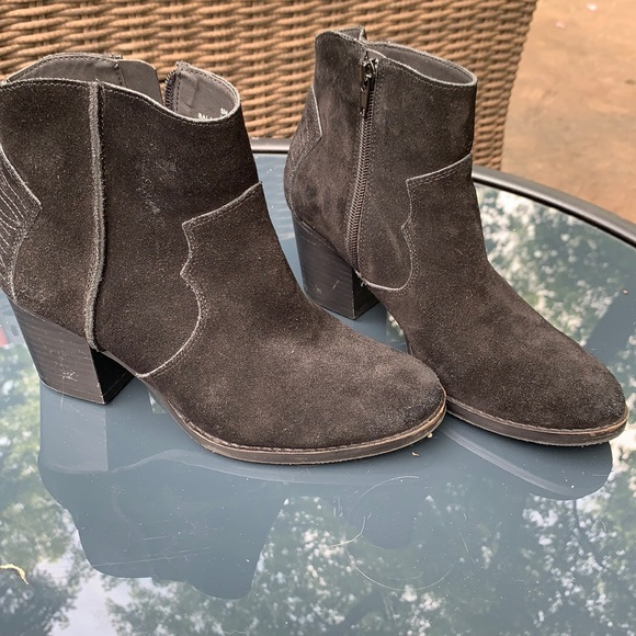 CROWN VINTAGE  western style ankle boots size:6